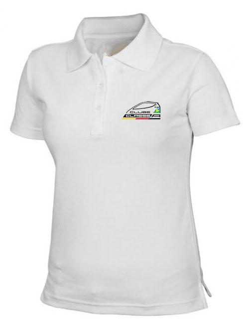 5354a4f4b8 Camisa Pólo Baby Look – Clube Classe A